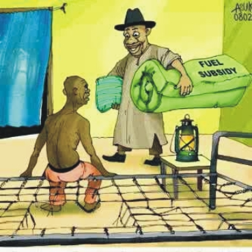 For Cheap Fuel, Nigeria Bought Massive Corruption •	Subsidy Probe Report/View From Abroad Jon Gambrell, Associated Press