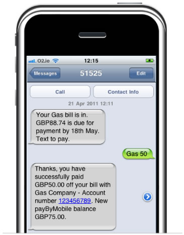 UK Banks to Allow Bill Payments by SMS from 2014