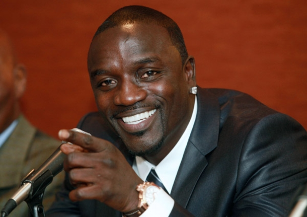 Akon says Singing Has Given Him a Platform to Promote Africa