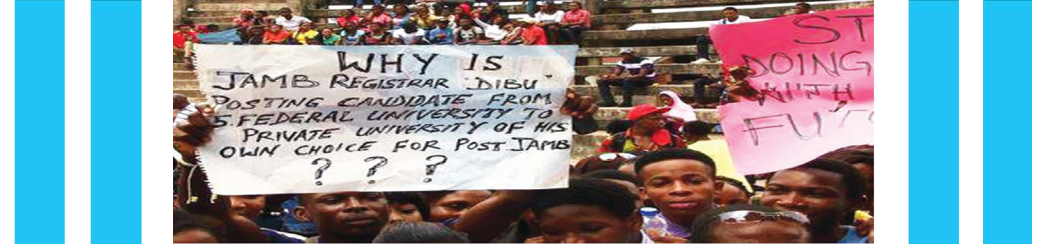 Time to End the Confusion of JAMB