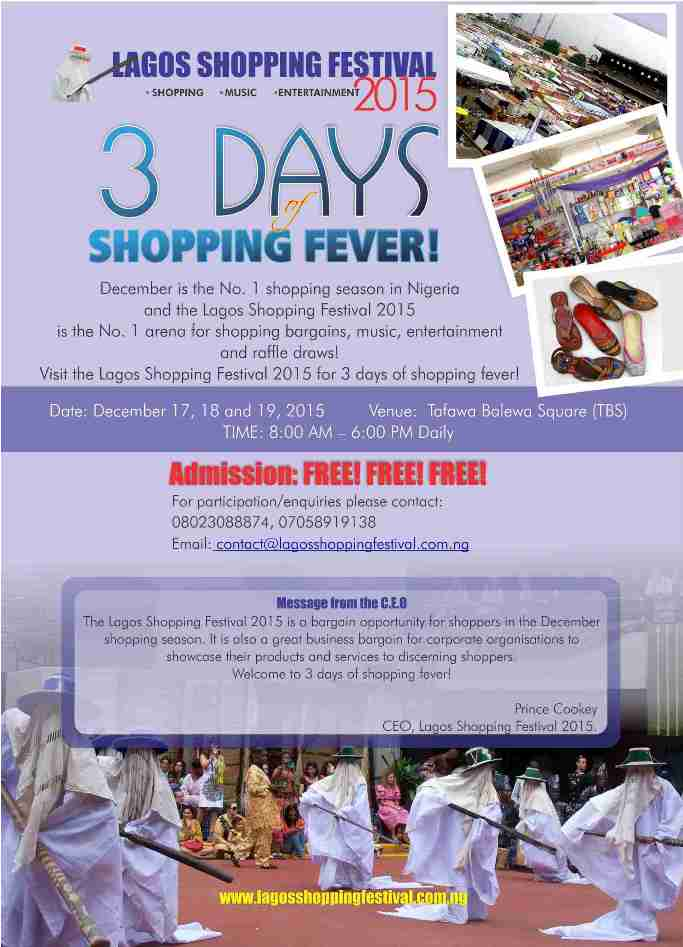 lagos shopping festival
