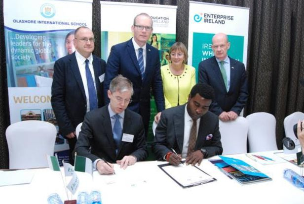 Olashore Signs MoU with Ireland on Pre-Medical Programme