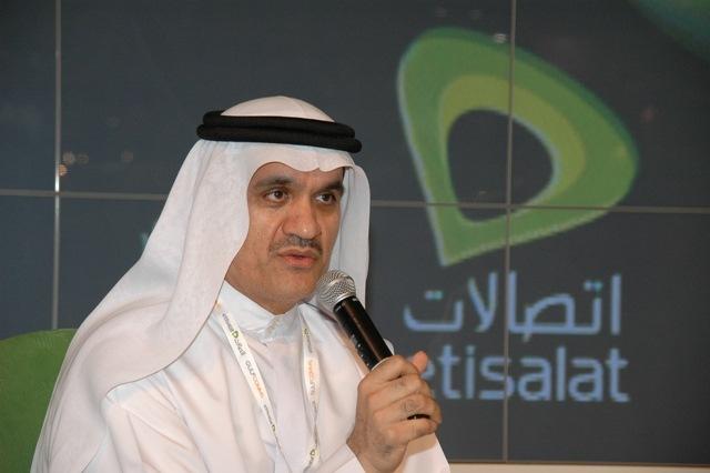 Etisalat Group's CEO, Ahmad Julfar