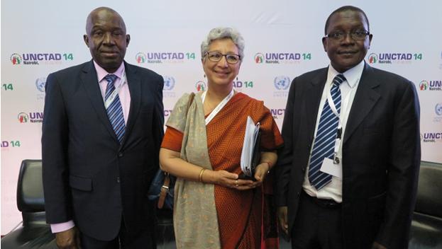 NEXIM CEO Participates in UNCTAD 14 Conference in Kenya