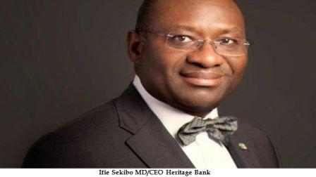 Ifie Sekibo MD/CEO Heritage Bank