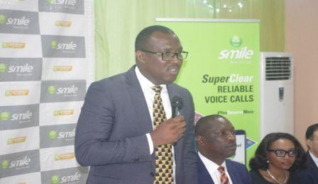 Godfrey Efeurhobo MD/CEO Smile Communications