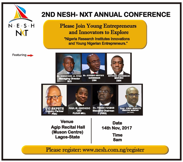NESH Holds 2nd Annual Entrepreneurship Confab Today