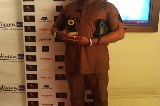 Jimoh Maiyegun of Farmcrowdy received the award on behalf of the company