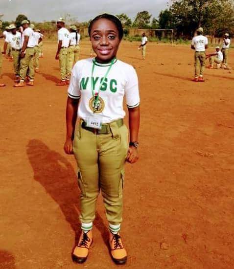 Kemi Adesoun in NYSC uniform: Real or Photoshop?