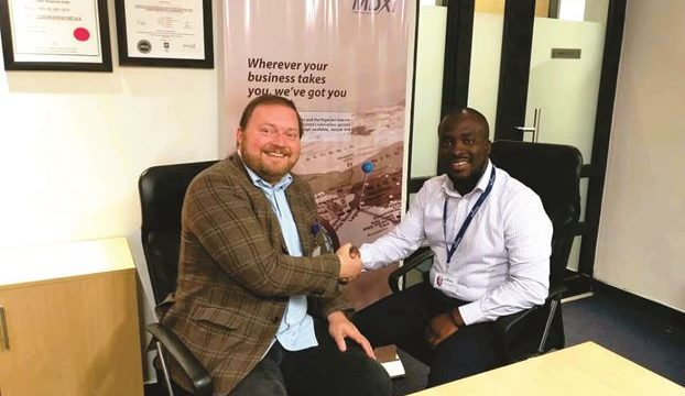 L-R: Asteroid CEO, Remco van Mook and Product Manager, MDXI, Vremudia Oghene-Ruemu at the launch of WAF-IX