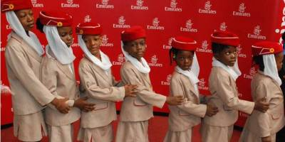 Emirates Fetes Young Nigerians on Children's Day