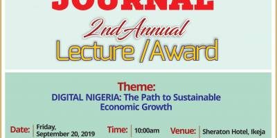 NCC Chief, Danbatta, to keynote Business Journal Lecture on Digital Disruption