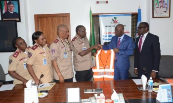 Linkage Assurance Donates Traffic Materials to FRSC