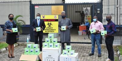 Stanbic IBTC Donates COVID-19 Test Kits to Lagos State Govt